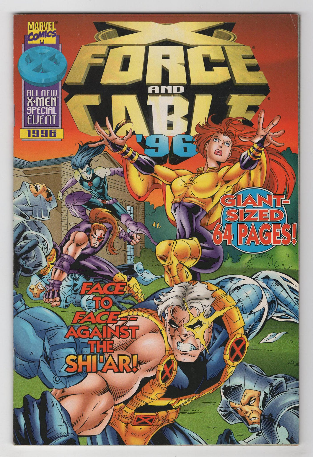 Cable X-Force 96 One Shot Cover Front