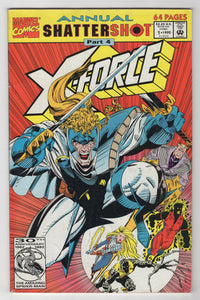X-Force Annual #1 Cover Front