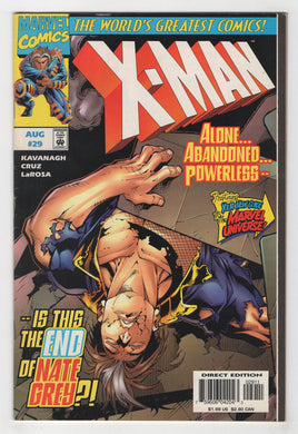 X-Man #29 Cover Front