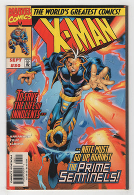X-Man #30 Cover Front