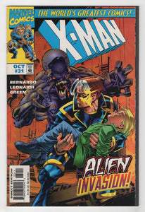 X-Man #31 Cover Front
