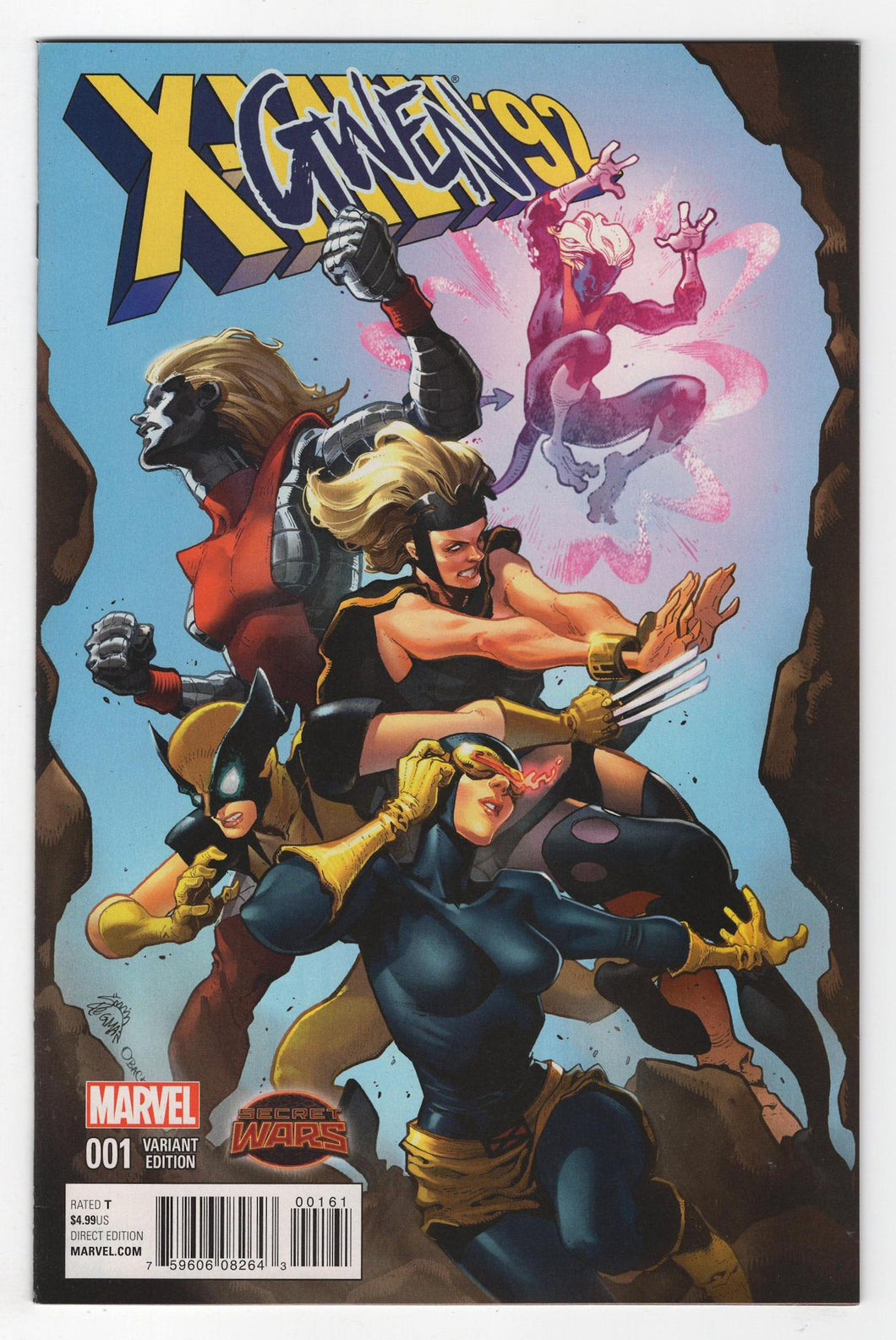 X-Men '92 #1 Stegman Variant Cover Front