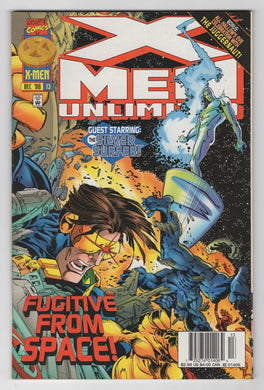 X-Men Unlimited #13 Cover Front