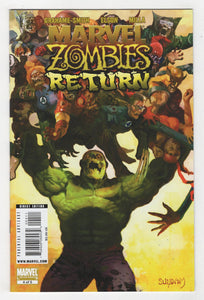 Marvel Zombies Return #4 Cover Front