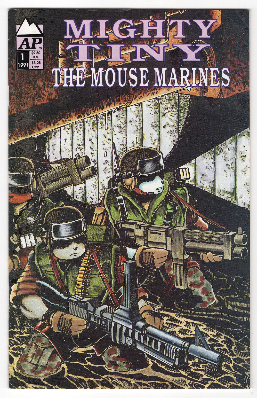 Mighty Tiny Mouse Marines #1 Cover Front