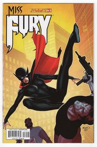 Miss Fury #3 Variant Cover Front