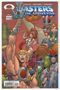 Masters of the Universe #1 Regular Cover Front
