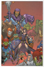 Masters of the Universe #1 Regular Cover Back