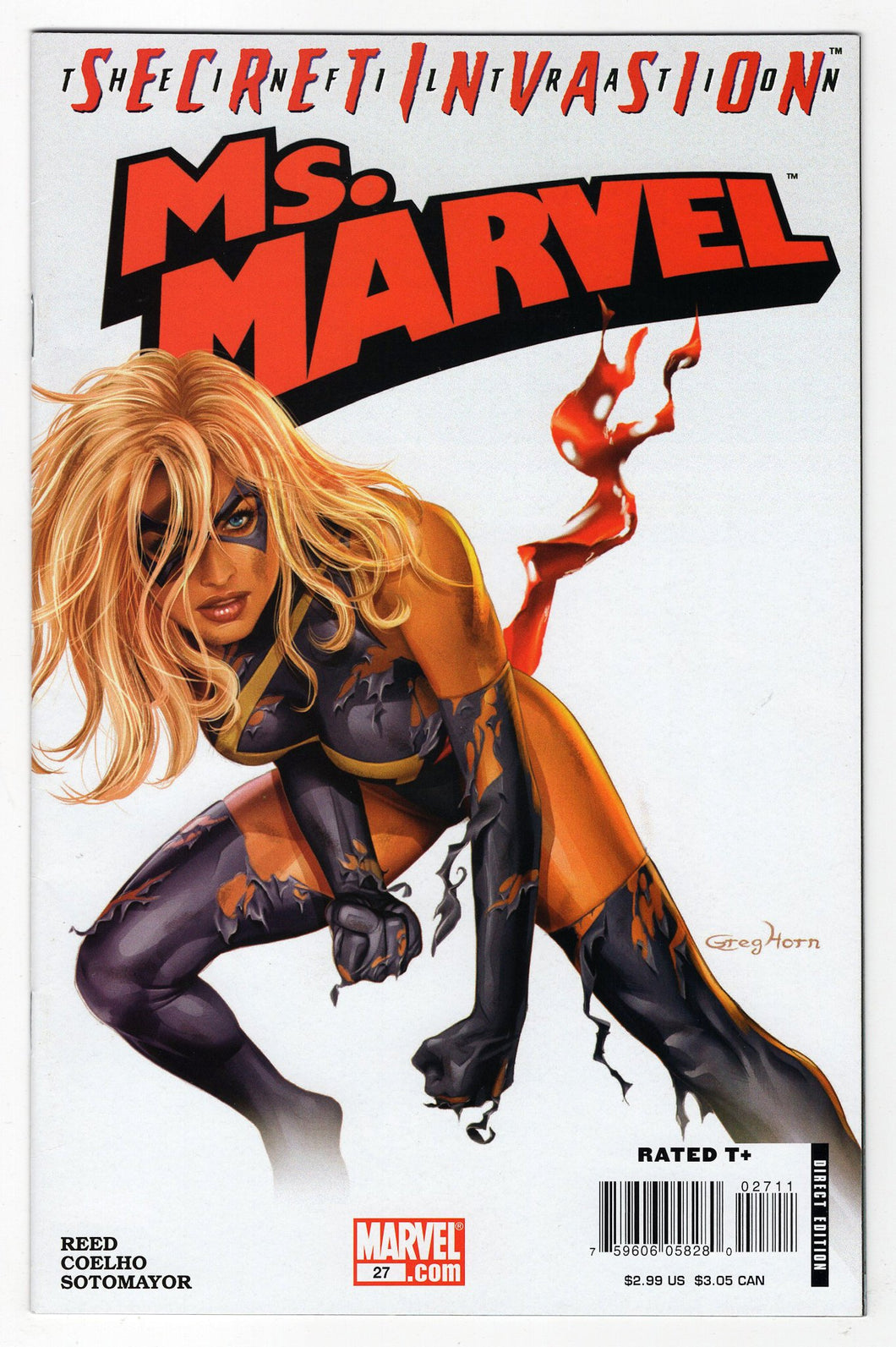 Ms Marvel #27 Cover Front