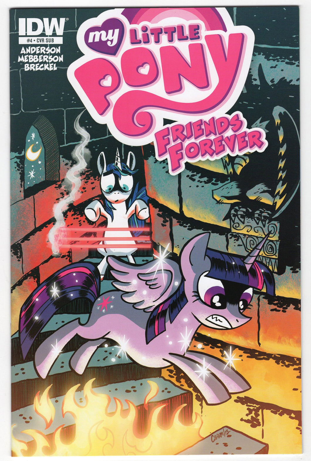 My Little Pony Friends Forever #4 Variant Cover Front