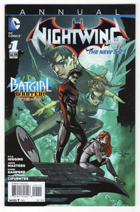 Nightwing Annual #1 Cover Front