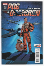 Star Wars Poe Dameron #1 GameStop Variant Cover Front