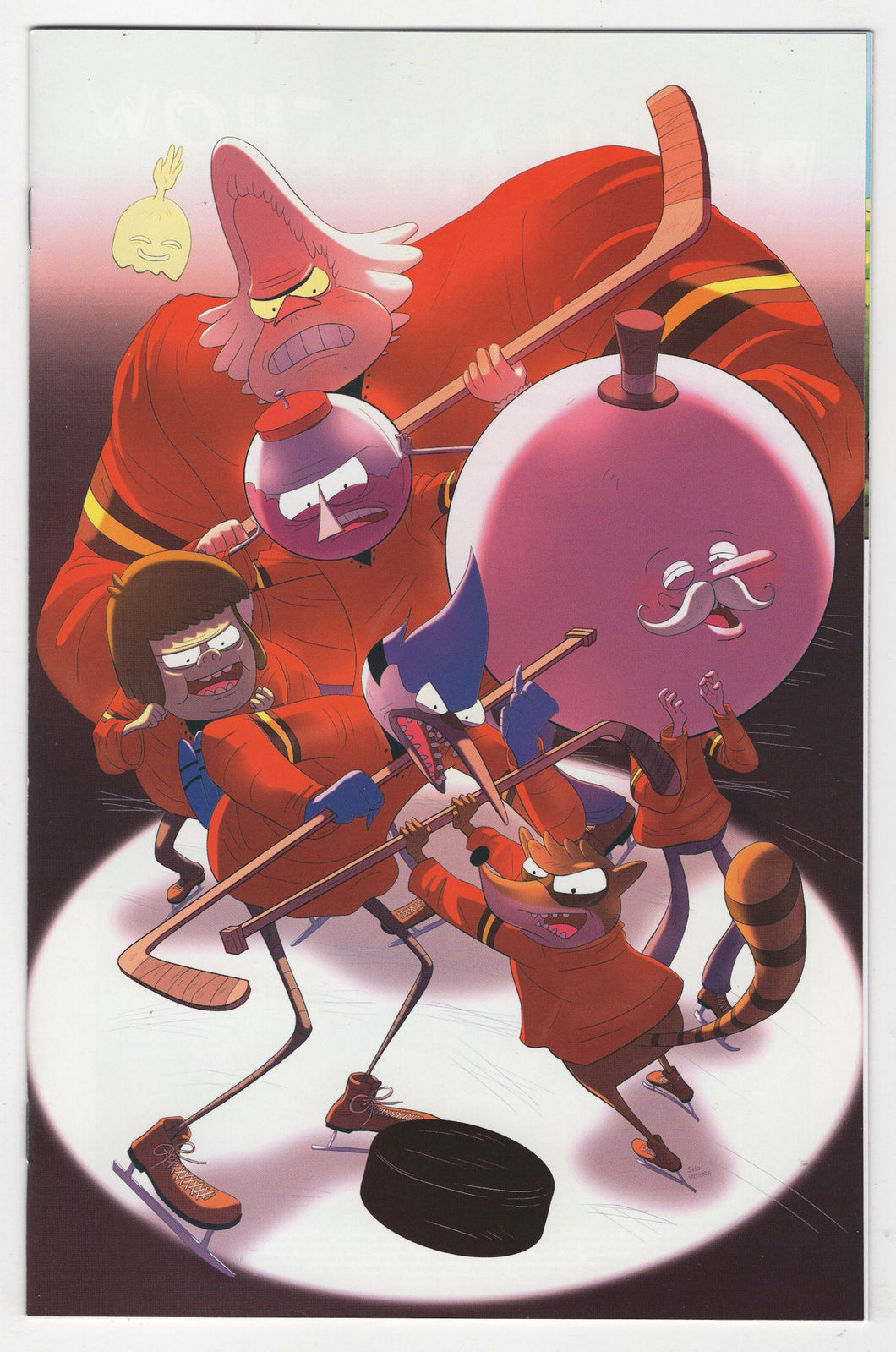 Regular Show #1 Calgary Expo Variant Cover Front