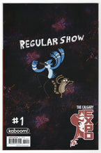 Regular Show #1 Calgary Expo Variant Cover Back