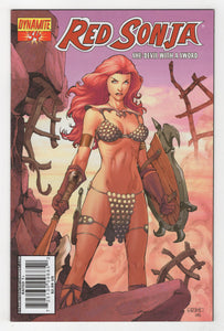 Red Sonja #34 Cover Front
