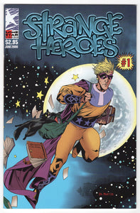 Strange Heroes #1 Cover Front