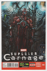 Superior Carnage #2 Cover Front