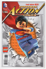 Action Comics #36 Lego Variant Cover Front