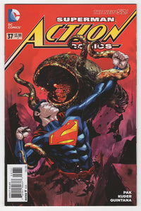 Action Comics #37 Variant Cover Front