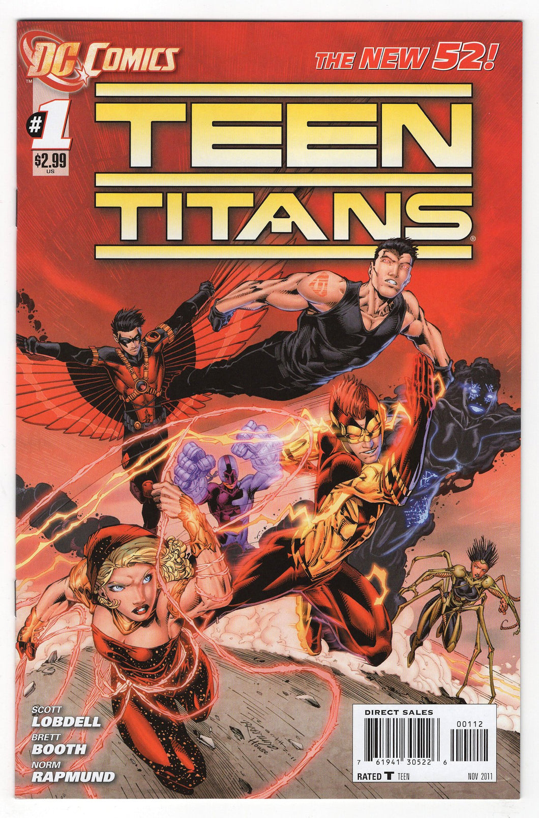 Teen Titans #1 2nd Print Cover Front