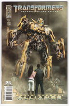 Transformers Revenge of the Fallen Alliance #3 Variant Cover Front