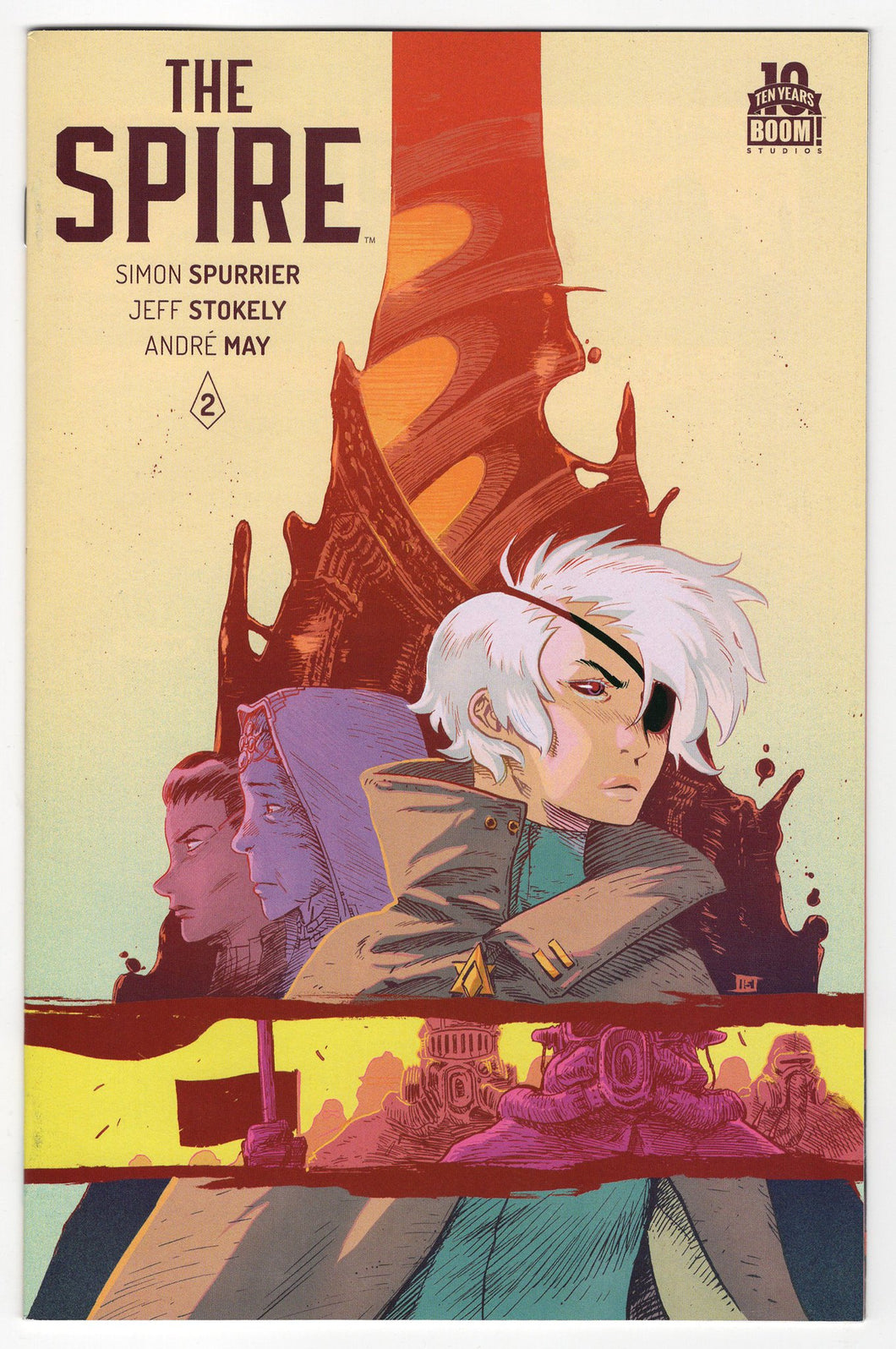 Spire #2 Cover Front