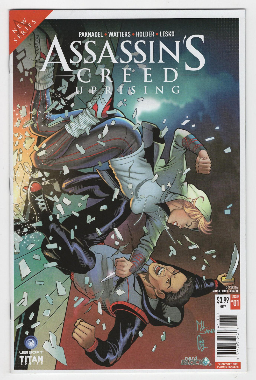 Assassins Creed Uprising #1 Variant Cover Front