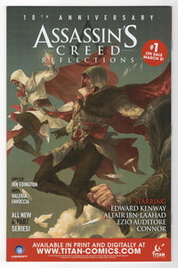 Assassins Creed Uprising #1 Variant Cover Back