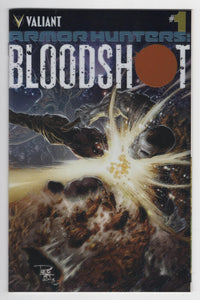 Armor Hunters Bloodshot #1 Variant Cover Front