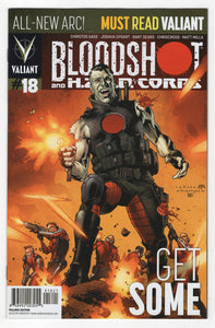 Bloodshot and H.A.R.D. Corps #18 Variant Cover Front