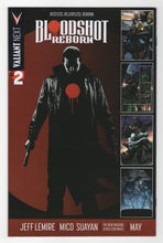 Bloodshot Reborn #1 Variant Cover Back