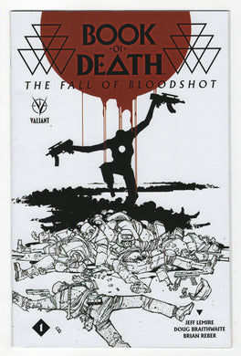 Book of Death Fall of Bloodshot #1 Variant Cover Front