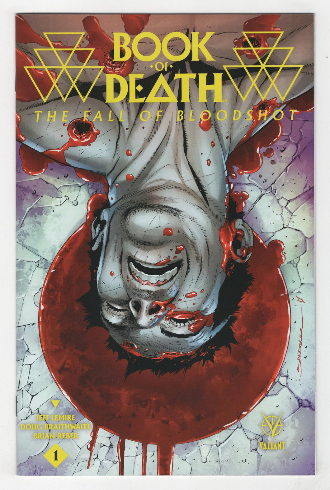 Book of Death Fall of Bloodshot #1 2nd Printing Cover Front