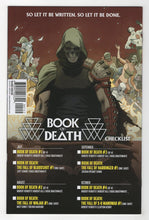 Book of Death Fall of Bloodshot #1 2nd Printing Cover Back
