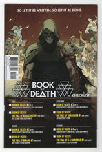 Book of Death Fall of Bloodshot #1 Yardin Variant Cover Back