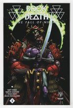Book of Death Fall of Ninjak #1 Mann Variant Cover Front