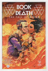 Book of Death Fall of Ninjak #1 Gill Variant Cover Front