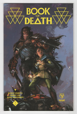 Book of Death #1 Crain Variant Cover Front