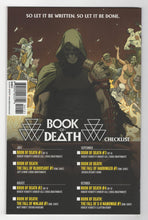 Book of Death #1 Crain Variant Cover Back