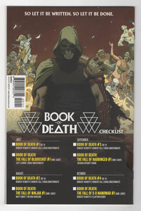 Book of Death #1 Kevic-Djurdjevic Variant Cover Back