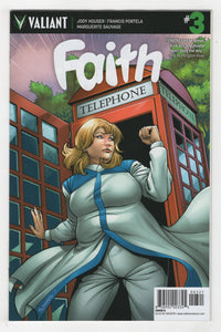 Faith #3 Variant Cover Front