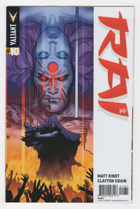 Rai #10 Variant Cover Front