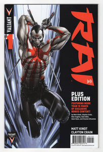 Rai #1 Variant Cover Front