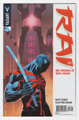 Rai #6 Variant Cover Front