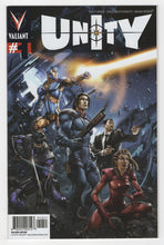 Unity #1 Variant Cover Front