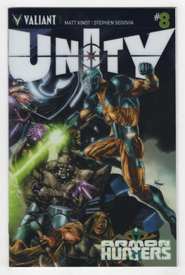 Unity #8 Variant Cover Front