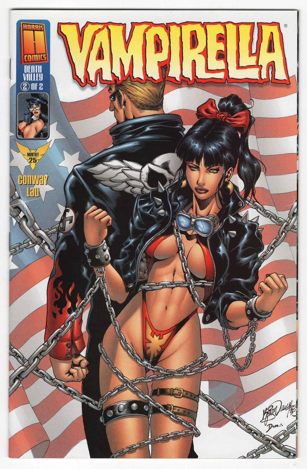 Vampirella Monthly #25 Cover Front