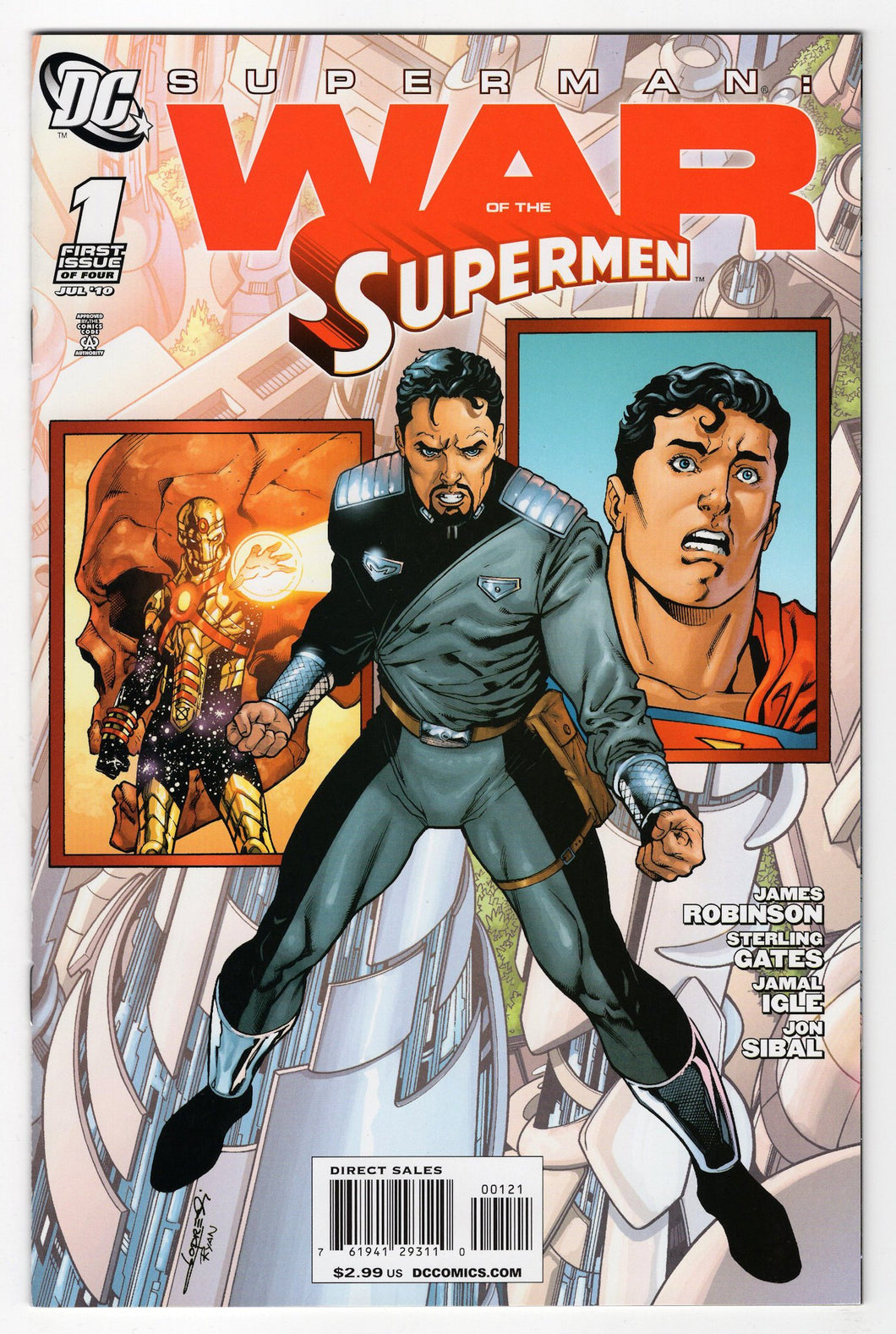Superman War of the Supermen #1 Variant Cover Front