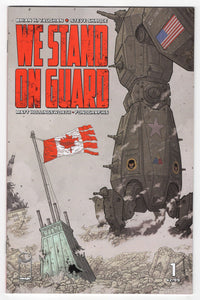 We Stand On Guard #1 Cover Front