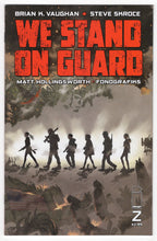 We Stand On Guard #2 Cover Front